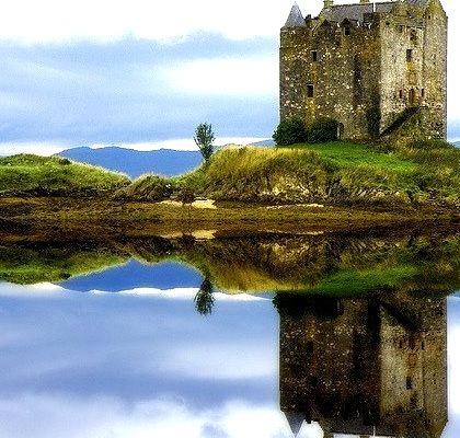 Island Castle, Loch Laich, Scotland