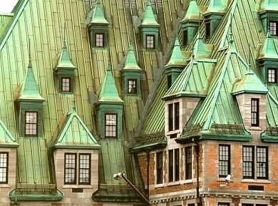 Spired Windows, Edinburgh, Scotland