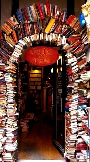 Bookstore Entrance, Lyon, France