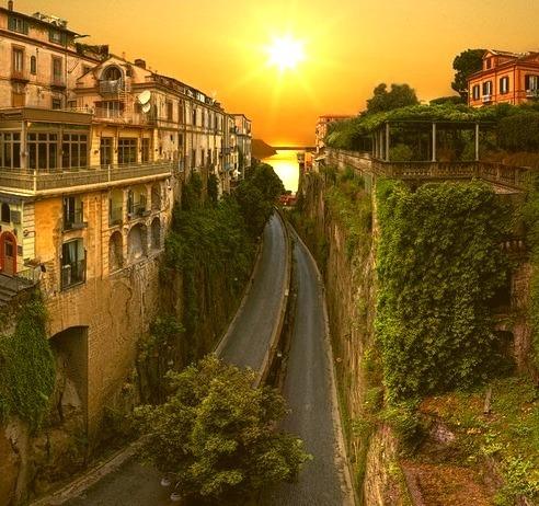 Sunrise Highway, Sorrento, Italy