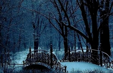 Snow Bridge, Warsaw, Poland