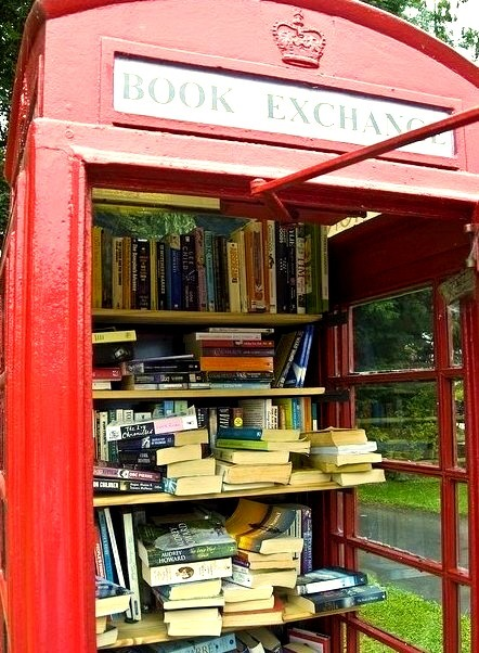 Book Exchange, London, England