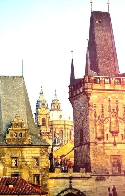 Spires, Prague, Czech Republic
